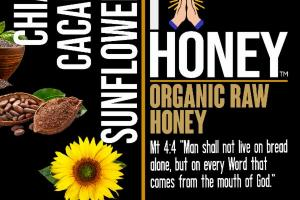 CHIA CACAO SUNFLOWER ORGANIC RAW HONEY