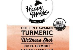 GOLDEN HAWAIIAN EXTRA TURMERIC, PINEAPPLE, RAW HONEY, LEMON, BLACK PEPPER JUICE WELLNESS SHOT