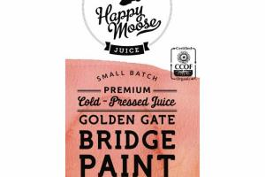 GOLDEN GATE BRIDGE PAINT BLOOD ORANGE PREMIUM COLD - PRESSED JUICE