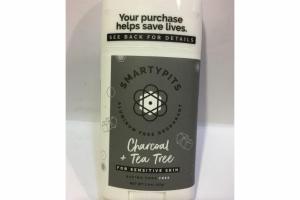 CHARCOAL + TEA TREE FOR SENSITIVE SKIN DEODORANT