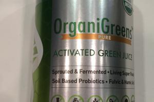 Pure Activated Green Juice Dietary Supplement