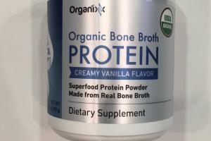 Organic Bone Broth Protein Dietary Supplement