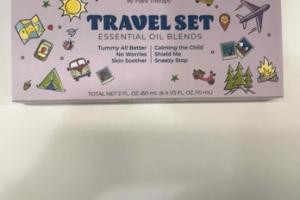 ESSENTIAL OIL BLENDS TRAVEL SET