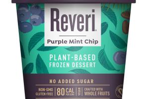 PURPLE MINT CHIP PLANT-BASED FROZEN DESSERT