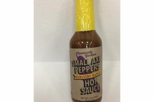 HABANERO MANGO SMALL AXE PEPPERS HOT SAUCE