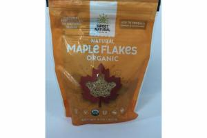 ORGANIC NATURAL MAPLE FLAKES
