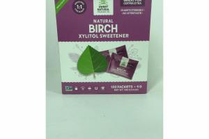 NATURAL BIRCH XYLITOL SWEETENER COFFEE & TEA