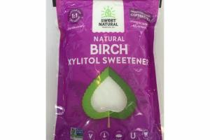 NATURAL BIRCH XYLITOL SWEETENER