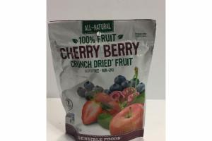 100% CHERRY BERRY CRUNCH DRIED FRUIT SNACKS
