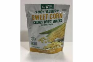 SWEET CORN CRUNCH DRIED SNACKS