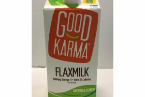 UNSWEETENED FLAXMILK