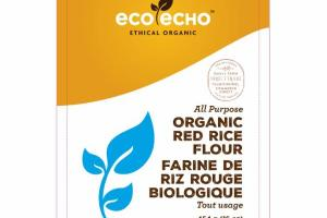ORGANIC RED RICE FLOUR