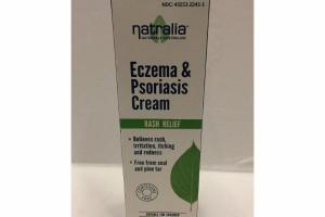 RASH RELIEF ECZEMA & PSORIASIS CREAM