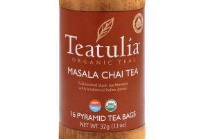 MASALA CHAI ORGANIC PYRAMID TEA BAGS