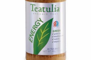 ENERGY GREEN ORGANIC TEA BAGS