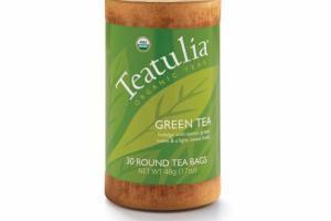 ORGANIC GREEN ROUND TEA BAGS