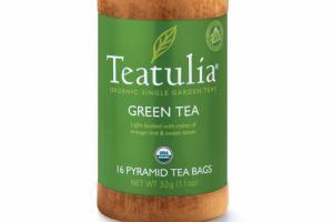 ORGANIC SINGLE GARDEN GREEN TEA