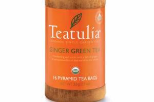 ORGANIC SINGLE GARDEN GINGER GREEN TEA