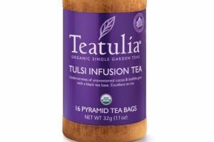 TULSI INFUSION PYRAMID TEA BAGS