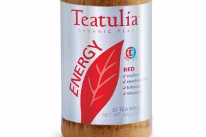 RED ORGANIC ENERGY TEAS