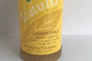 ORGANIC CHAMOMILE HERBAL INFUSION TEA BAGS