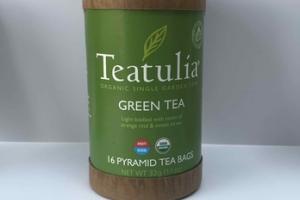 HOT ICED GREEN PYRAMID TEA BAGS