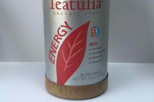 ORGANIC TEAS ENERGY RED TEA BAGS