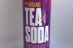 ORGANIC LEMONGRASS TEA, WILD BERRY, LIME, LAVENDER TEA SODA