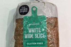 White Wide Slice