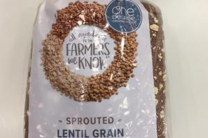 Organic Sprouted Lentil Grain Bread