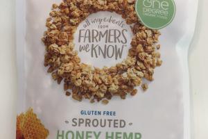 Sprouted Honey Hemp Granola