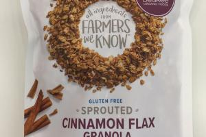 Sprouted Cinnamon Flax Granola