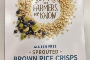 Sprouted Brown Rice Crisps