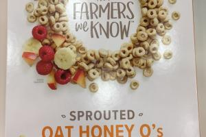 Organic Honey-sweetened Whole-grain Cereal