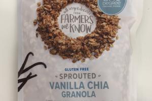 Sprouted Vanilla Chia Granola