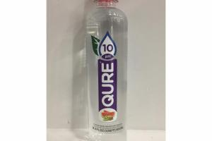 WATERMELON KIWI FLAVOR PURIFIED WATER INFUSED WITH ALKALINE