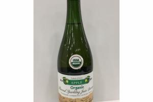 ORGANIC APPLE FLAVORED SPARKLING JUICE BEVERAGE