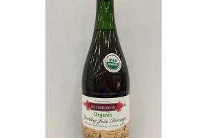 ORGANIC APPLE POMEGRANATE SPARKLING JUICE BEVERAGE