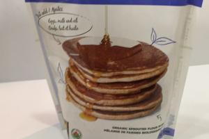 Organic Whole Grain Sprouted Pancake Mix