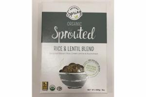 SPROUTED RICE & LENTIL BLEND