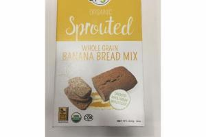 ORGANIC SPROUTED WHOLE GRAIN BANANA BREAD MIX