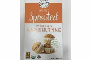 ORGANIC SPROUTED WHOLE GRAIN PUMPKIN MUFFIN MIX