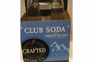 CLUB SODA WITH HAWAIIAN SEA SALT