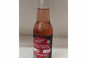 STRAWBERRY ORGANIC SPARKLING DRINKING VINEGAR