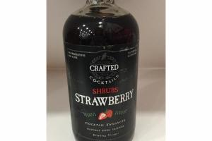 STRAWBERRY SHRUBS COCKTAIL ENHANCER NATURAL SODA INFUSER DRINKING VINEGAR