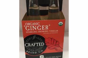 ORGANIC GINGER SPARKLING DRINKING VINEGAR