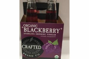 ORGANIC BLACKBERRY SPARKLING DRINKING VINEGAR