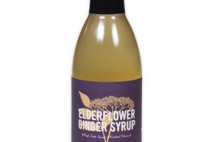 Elderflower Ginger Syrup