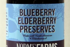 BLUEBERRY ELDERBERRY PRESERVES