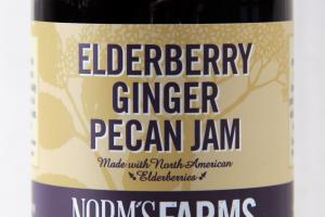 ELDERBERRY GINGER PECAN JAM